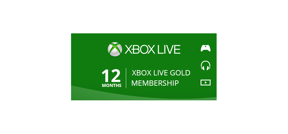 Xbox Live Gold: 12 Months Membership