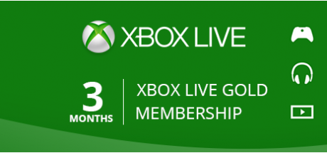 Xbox Live Gold: 3 Months Membership
