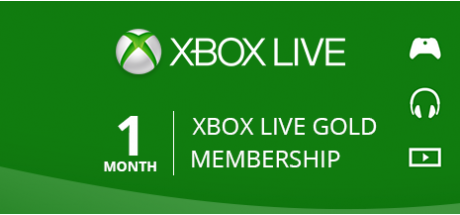 Xbox Live Gold: 1 Month Membership
