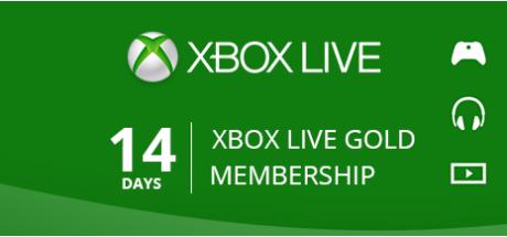Xbox Live Gold: 14 Days Membership