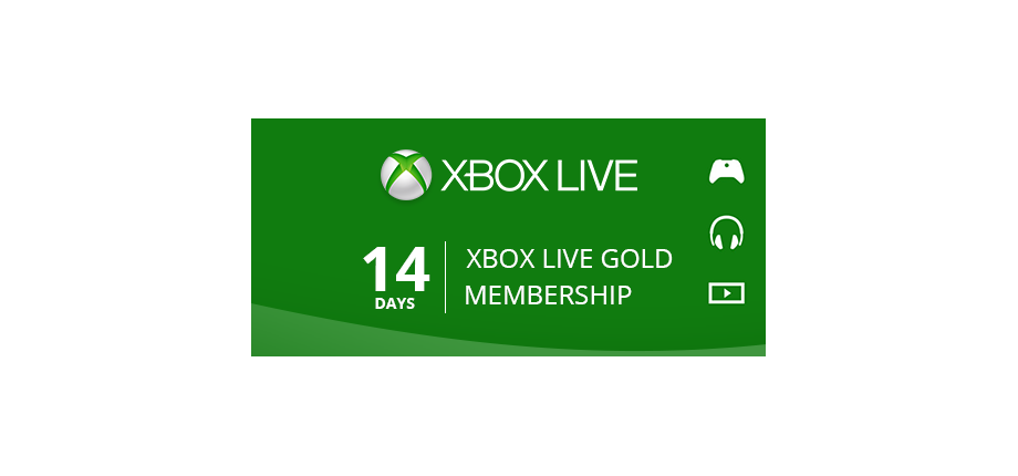 Xbox Live Gold: 14 Days Membership