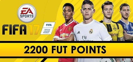 FIFA 17: 2200 Points Pack - Prepaid Card