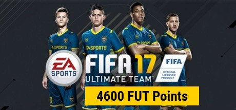 FIFA 17: 4600 Points Pack - Prepaid Card
