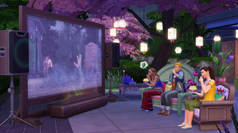 The Sims™ 4: Movie Hangout Stuff