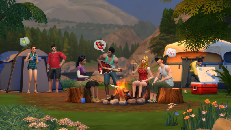 The Sims™ 4: Movie Hangout Stuff