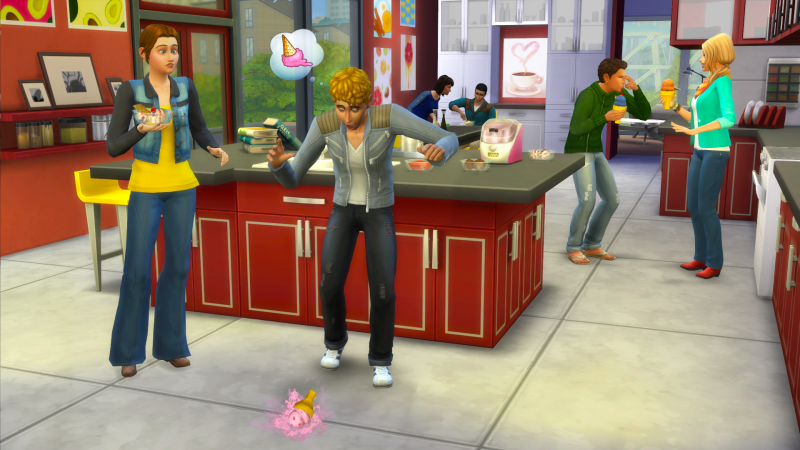 The Sims™ 4: Cool Kitchen Stuff