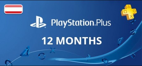 Playstation Network Plus: 12 Months Subscription - Austria