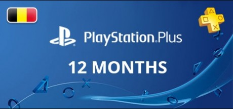 Playstation Network Plus: 12 Months Subscription - Belgium