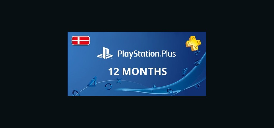 Playstation Network Plus: 12 Months Subscription - Denmark