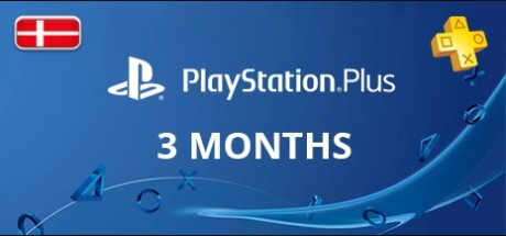 Playstation Network Plus: 3 Months Subscription - Denmark