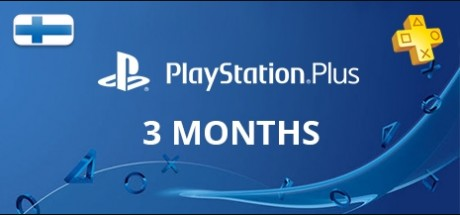 Playstation Network Plus: 3 Months Subscription - Finland