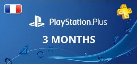 Playstation Network Plus: 3 Months Subscription - France