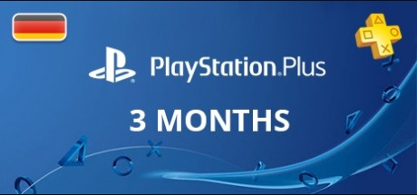 Playstation Network Plus: 3 Months Subscription - Germany