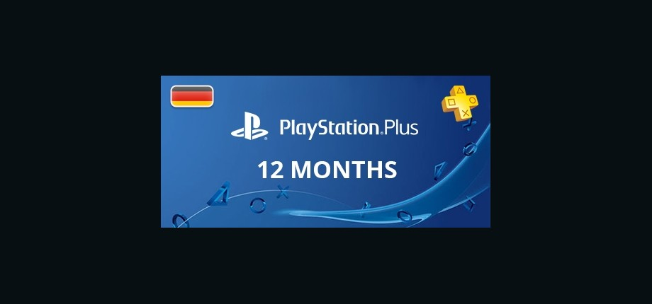 Playstation Network Plus: 12 Months Subscription - Germany
