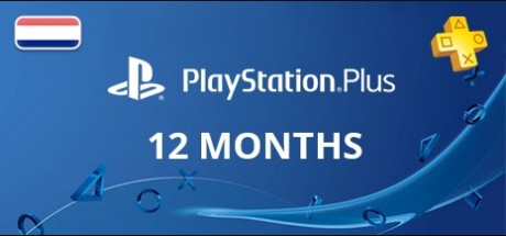 Playstation Network Plus: 12 Months Subscription - Netherlands