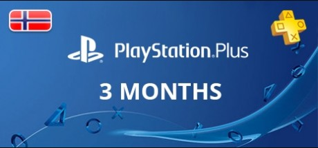 Playstation Network Plus: 3 Months Subscription - Norway