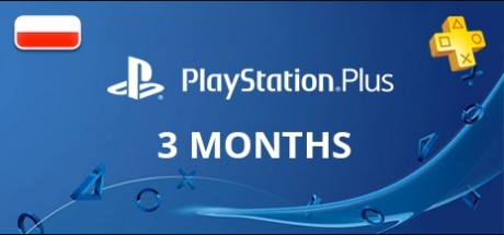 Playstation Network Plus: 3 Months Subscription - Poland
