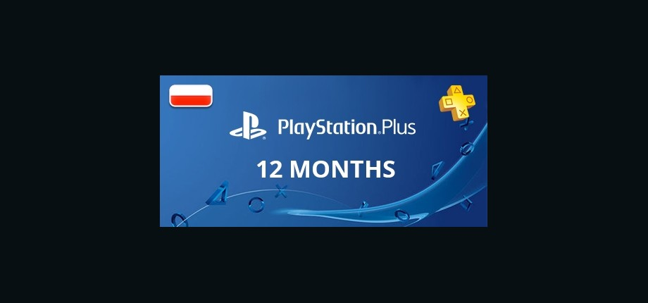 Playstation Network Plus: 12 Months Subscription - Poland