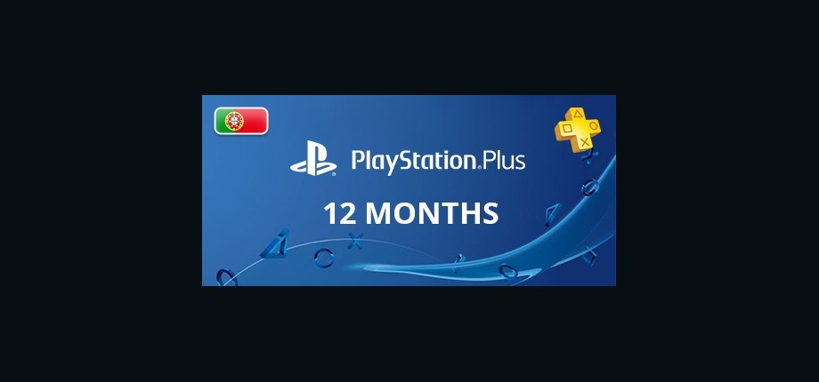 Playstation Network Plus: 12 Months Subscription - Portugal