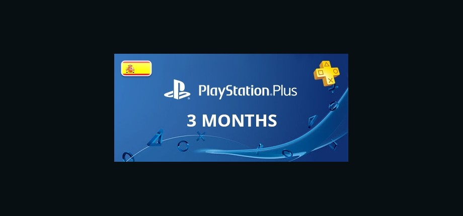 Playstation Network Plus: 3 Months Subscription - Spain