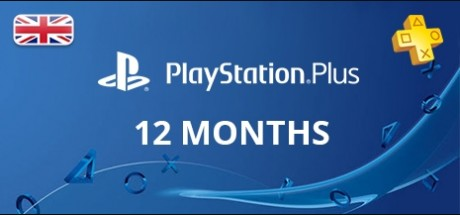 Playstation Network Plus: 12 Months Subscription - United Kingdom