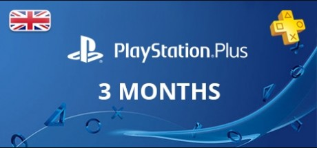 Playstation Network Plus: 3 Months Subscription - United Kingdom