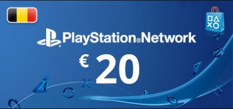 Playstation Network: 20 EUR Prepaid Card - Belgium