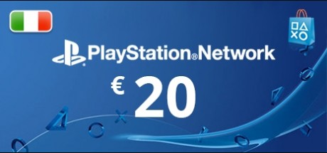 Playstation Network: 20 EUR Prepaid Card - Italy