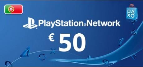 Playstation Network: 50 EUR Prepaid Card - Portugal