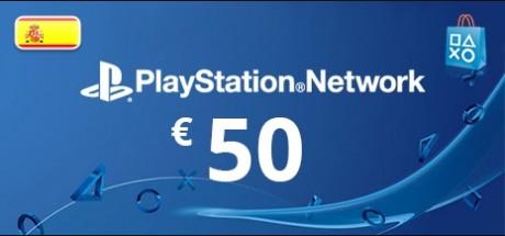 Playstation Network: 50 EUR Prepaid Card - Spain