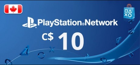 Playstation Network: 10 CAD Prepaid Card - Canada