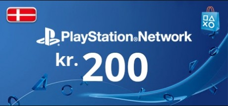 Playstation Network: 200 DKK Prepaid Card - Denmark