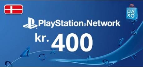 Playstation Network: 400 DKK Prepaid Card - Denmark