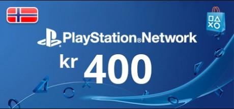 Playstation Network: 400 NOK Prepaid Card - Norway