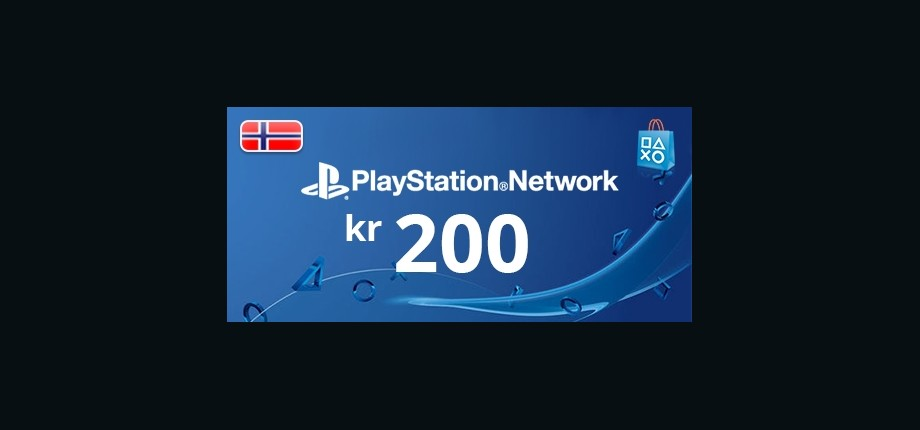Playstation Network: 200 NOK Prepaid Card - Norway