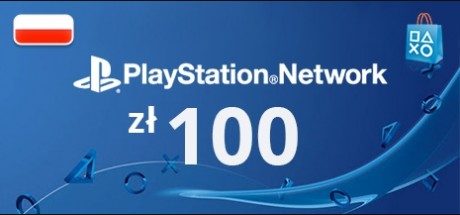 Playstation Network: 100 PLN Prepaid Card - Poland