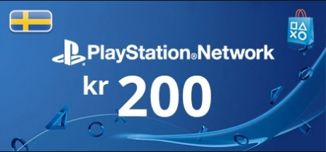 Playstation Network: 200 SEK Prepaid Card - Sweden
