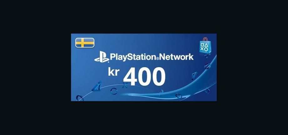 Playstation Network: 400 SEK Prepaid Card - Sweden