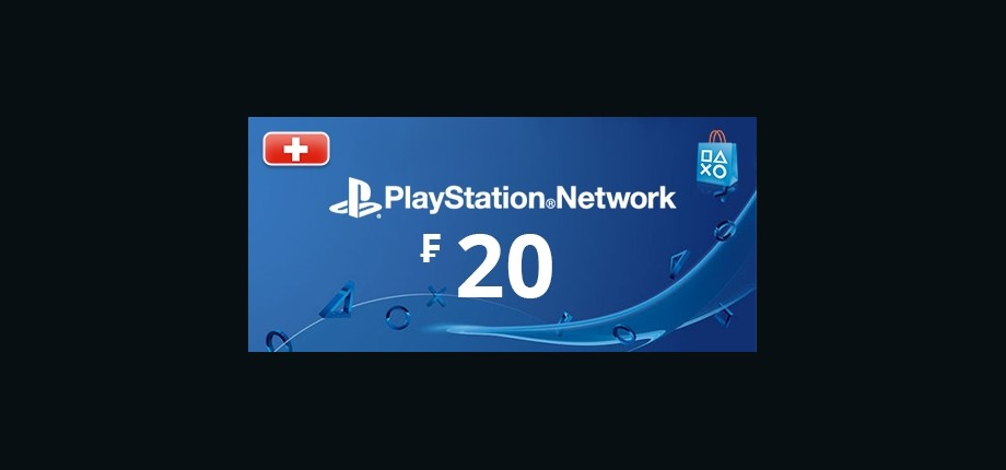 Playstation Network: 20 CHF Prepaid Card - Switzerland