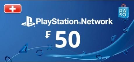 Playstation Network: 50 CHF Prepaid Card - Switzerland