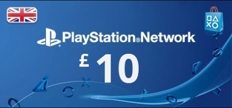 Playstation Network: 10 GBP Prepaid Card - United Kingdom