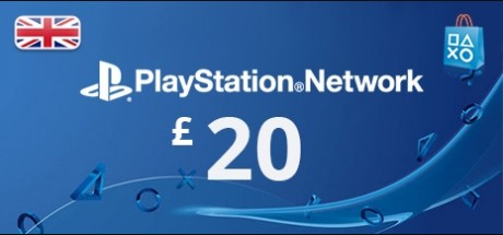 Playstation Network: 20 GBP Prepaid Card - United Kingdom