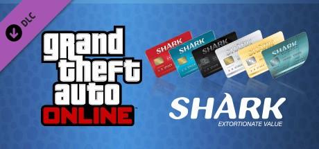 GTA Online: Megalodon Shark Cash Card - 8,000,000 $