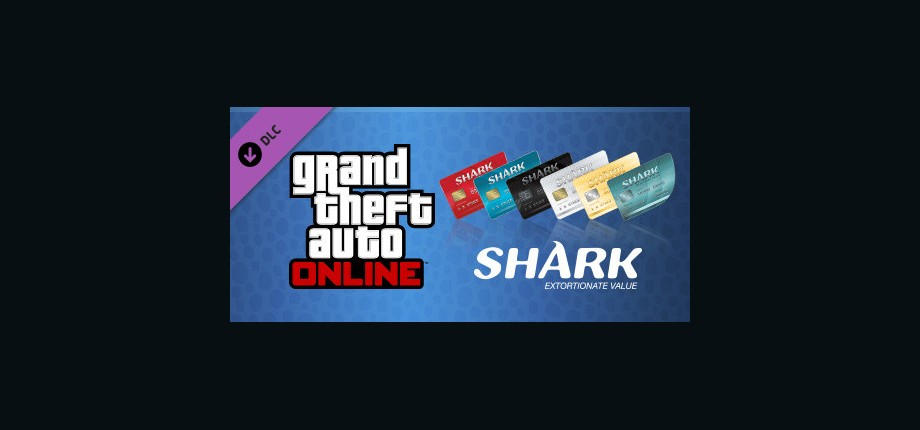 GTA Online: Megalodon Shark Cash Card - 8,000,000 $