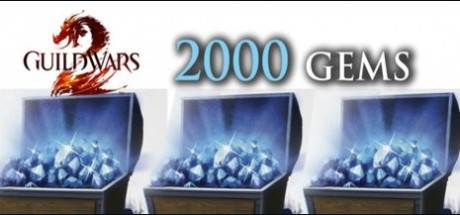 Guild Wars 2: 2000 Gems Prepaid Card