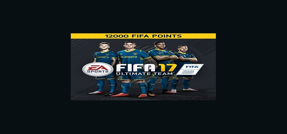 FIFA 17: 12000 Points Pack - Prepaid Card